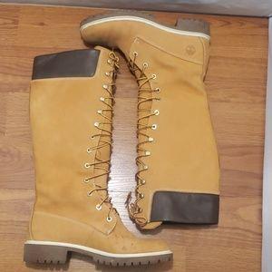 Timberland women's 14-inch boot  Wheat/Nubuck